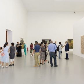 "14 Exhibition View of Prologue – German Informel Art 290x290 - Red Brick Art Museum presents ""Prologue – German Informel Art"" featuring post-war Germany's most important abstract art"