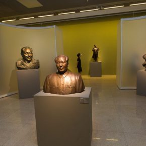"14 Exhibition view of ""The First National Sculpture Art Exhibition"""
