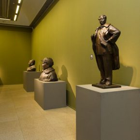 "15 Exhibition view of ""The First National Sculpture Art Exhibition"""
