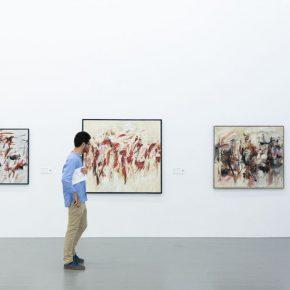 "16 Exhibition View of Prologue – German Informel Art 290x290 - Red Brick Art Museum presents ""Prologue – German Informel Art"" featuring post-war Germany's most important abstract art"