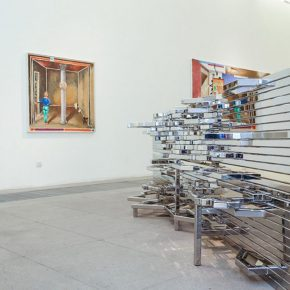 "17 The exhibited work 1 290x290 - The First Show of ""Next Generation"" Focuses on Young Art Inaugurated the Deutschland 8"