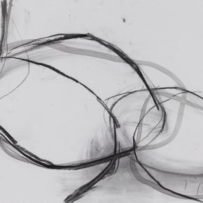 17 Zhou Li, The sculpture sketch of Lines, 2017; Mixed media on paper, 27x39cm