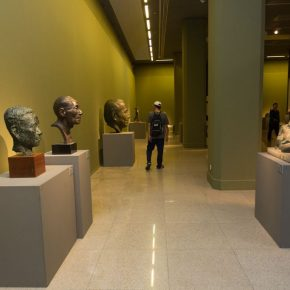 "20 Exhibition view of ""The First National Sculpture Art Exhibition"""