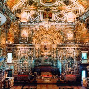 """21 Candida Höfer Church of Sao Francisco de Assis Salvador Bahia II C Print 184 x 231 cm 2005 290x290 - Photographers from the Düsseldorf School to Talk about """"The Language of Photography"""""""