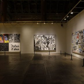 """22 Installation view of the exhibition 2 290x290 - Panoramic View of Post-War German Art: """"Deutschland 8"""" Exhibition is in Full Swing"""