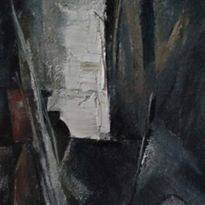 41 Ye Nan, Ancient Town in the South of Yangtze River group paintings No.5, 120 x 30 cm, 2010