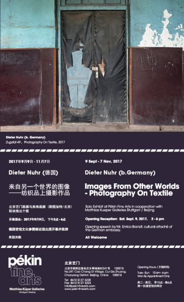 Poster of Dieter Nuhr Works From Other Worlds – Photography on Textile