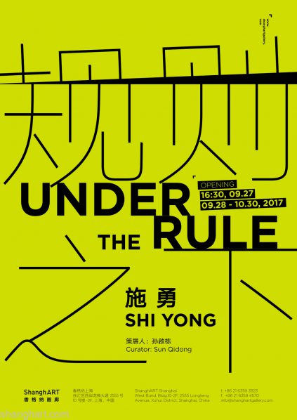 Poster of Under the Rule