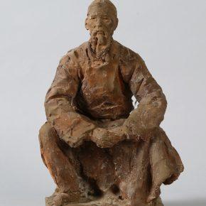 Сергей Иванович Селиханов Statue of Peasant 1957 Sculpture 44x16x17cm 290x290 - NAMOC presents Sculpture Exhibition of Сергей Иванович Селиханов and Константин Селиханов