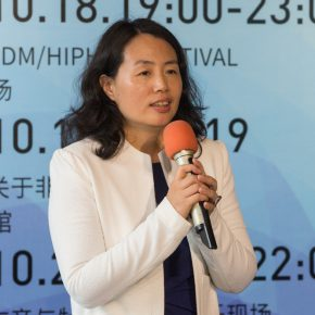 """01 Curator of the exhibition Yue Jieqiong delivered a speech 1 290x290 - """"Spirit of Artisan"""" of Contemporary Art: Taoxichuan Art Museum Launched """"To Ingenuity"""" in Jingdezhen"""