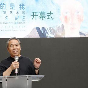 """01 Wang Shaojun Deputy Party Secretary of Central Academy of Fine Arts and an artist 290x290 - To Be a Real Hero of Life: Wang Shaojun's Solo Exhibition """"It's Me"""" in Changsha"""