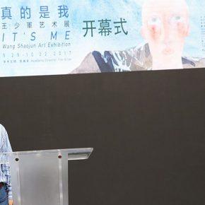 """02 Huang Xiao Editor in Chief Hunan Art Publishing House 290x290 - To Be a Real Hero of Life: Wang Shaojun's Solo Exhibition """"It's Me"""" in Changsha"""