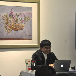 """02 View of Zhang Yonghe's lecture 290x290 - Artistic Career as an Architect: Zhang Yonghe Talked About """"Art & Me"""""""