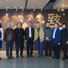 """03 Group photo of the honored guests 1 290x290 - """"Spirit of Artisan"""" of Contemporary Art: Taoxichuan Art Museum Launched """"To Ingenuity"""" in Jingdezhen"""
