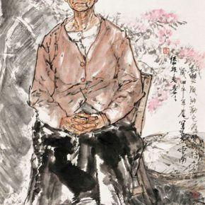 03 Li Yang An Old Lady of Dai Nationality 136 x 68 cm 2016 2 290x290 - Li Yang: The Sketch as a Work – Building a Bridge between Training in Sketching and Artistic Creation