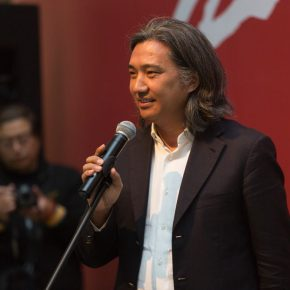 """03 Wu Weishan Director of National Art Museum of China delivered a speech 290x290 - Local Customs & Humanities: Tian Shixin Art Exhibition """"Master Works"""" has opened"""