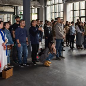 """04 View of the opening ceremony 1 290x290 - """"Spirit of Artisan"""" of Contemporary Art: Taoxichuan Art Museum Launched """"To Ingenuity"""" in Jingdezhen"""
