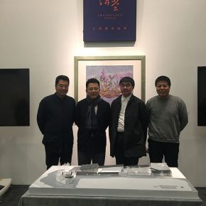 """05 Group photo of the honored guests 290x290 - Artistic Career as an Architect: Zhang Yonghe Talked About """"Art & Me"""""""
