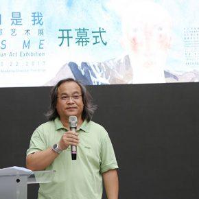 """05 Kuang Xiaojin Secretary General of Hunan Province Artists Association 290x290 - To Be a Real Hero of Life: Wang Shaojun's Solo Exhibition """"It's Me"""" in Changsha"""