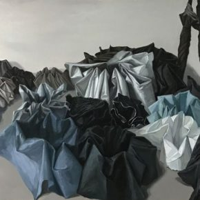 08 Hao Xiang Social Animal oil on canvas 90 x 140 cm 2017 290x290 - 2017 Tianjin Youth Art Week: Connecting the Current Era and Urban Life