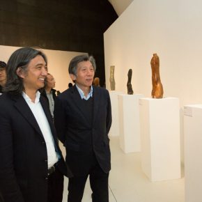 """10 Honored guests visited the exhibition 290x290 - Local Customs & Humanities: Tian Shixin Art Exhibition """"Master Works"""" has opened"""