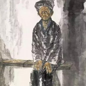 10 Li Yang A Seventy Year Old Man of Miao Nationality 180 x 97 cm 2016 2 290x290 - Li Yang: The Sketch as a Work – Building a Bridge between Training in Sketching and Artistic Creation