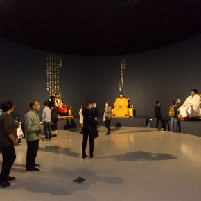 """11 Exhibition view of """"Master Works A Tian Shixin Art Exhibition"""" 290x290 - Local Customs & Humanities: Tian Shixin Art Exhibition """"Master Works"""" has opened"""
