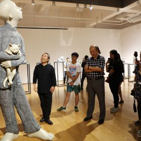 """12 Exhibition view of """"It's Me"""" 290x290 - To Be a Real Hero of Life: Wang Shaojun's Solo Exhibition """"It's Me"""" in Changsha"""