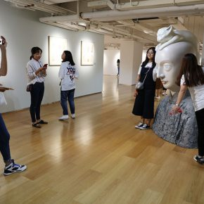 """14 Exhibition view of """"It's Me"""" 290x290 - To Be a Real Hero of Life: Wang Shaojun's Solo Exhibition """"It's Me"""" in Changsha"""