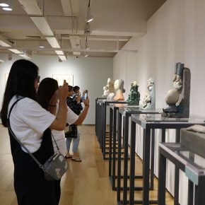 """17 Exhibition view of """"It's Me"""" 290x290 - To Be a Real Hero of Life: Wang Shaojun's Solo Exhibition """"It's Me"""" in Changsha"""