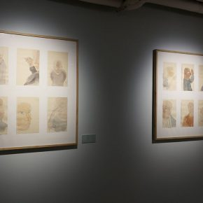 """18 The exhibited work 290x290 - To Be a Real Hero of Life: Wang Shaojun's Solo Exhibition """"It's Me"""" in Changsha"""