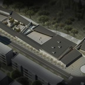 """20 A design plan of Wu Dayu Art Museum 290x290 - Artistic Career as an Architect: Zhang Yonghe Talked About """"Art & Me"""""""