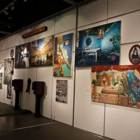 20 Installation view of the exhibition 290x290 - 2017 Tianjin Youth Art Week: Connecting the Current Era and Urban Life