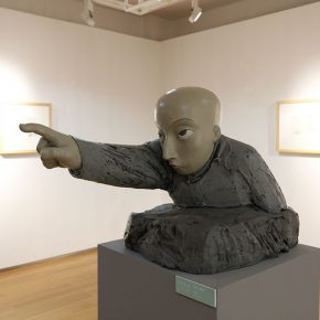 """22 The exhibited work 290x290 - To Be a Real Hero of Life: Wang Shaojun's Solo Exhibition """"It's Me"""" in Changsha"""