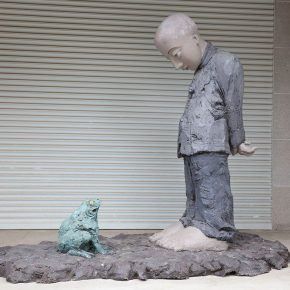 """24 The exhibited work 290x290 - To Be a Real Hero of Life: Wang Shaojun's Solo Exhibition """"It's Me"""" in Changsha"""