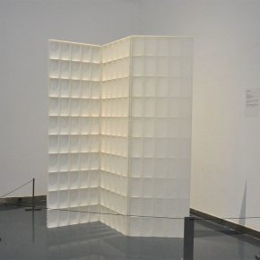 """24 Zhang Yonghe Thick and Thin Fold installation 2009 exhibition view of """"Art Exhibition of Elegant Items of Ingenuity"""" at Shixiang Art Space 290x290 - Artistic Career as an Architect: Zhang Yonghe Talked About """"Art & Me"""""""