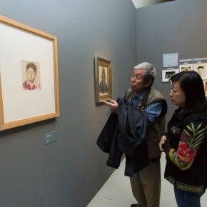 """25 Exhibition view of """"Master Works A Tian Shixin Art Exhibition"""" 290x290 - Local Customs & Humanities: Tian Shixin Art Exhibition """"Master Works"""" has opened"""