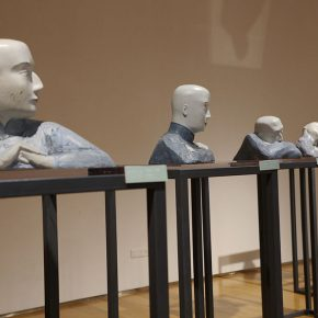 """26 The exhibited work 290x290 - To Be a Real Hero of Life: Wang Shaojun's Solo Exhibition """"It's Me"""" in Changsha"""