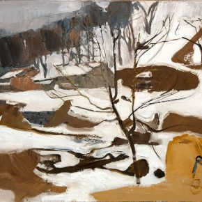 35 Dai Shihe, Early Spring of Qinling, 60.5 x 70.3 cm, 2008