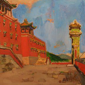 37 Dai Shihe Dahongtai oil on canvas 60 x 60 cm 2007 290x290 - Dai Shihe