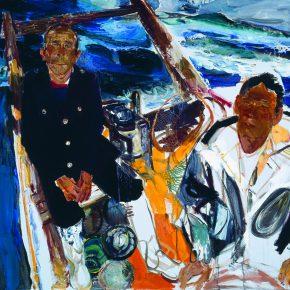 38 Dai Shihe Fishermen from Dalian oil on canvas 100 x 110 cm 2014 290x290 - Dai Shihe