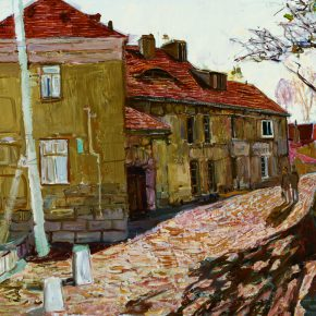 40 Dai Shihe The Old Lane of Guanxiang Road in Qingdao City oil on canvas 90 x 120 cm 2012 290x290 - Dai Shihe