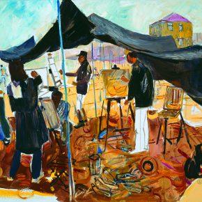 41 Dai Shihe The Shore of Bolanzi of Lvshun oil on canvas 100 x 110 cm 2014 290x290 - Dai Shihe