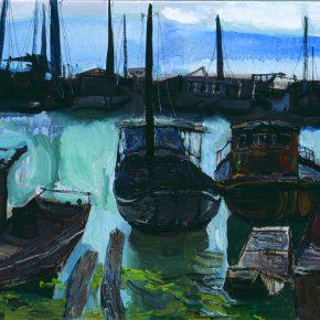 45 Dai Shihe Guangfu Town Terminal of Taihu Lake oil on canvas 60 x 80 cm 2013 290x290 - Dai Shihe
