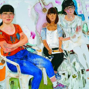 48 Dai Shihe The Music Class oil on canvas 100 x 120 cm 2014 290x290 - Dai Shihe