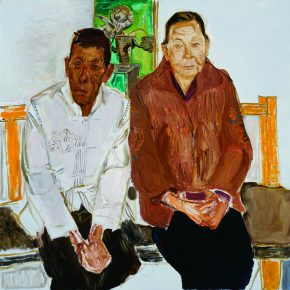 49 Dai Shihe A Peasant Poet and His Wife from Yunnan oil on canvas 100 x 100 cm 2012 290x290 - Dai Shihe