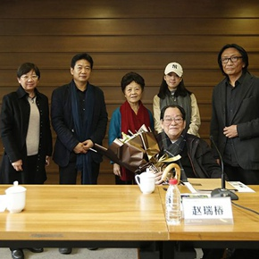 """Donation Ceremony of Zhao Ruichun's Works"" was Held at the CAFA Art Museum"