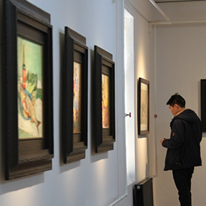 Purifying of Art Finds the Pure Soul: Sha Qi Art Exhibition Opened