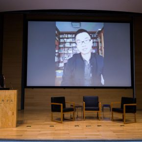 03 Live Video Communication with Lu Mingjun 290x290 - The Role, Context and Audience of Art Critic: Ten Years of the CCAA Chinese Contemporary Art Award