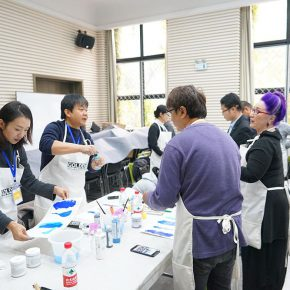 """03 Teachers from CAFA attended the course 290x290 - When Teachers Once Again Become Students: """"Propelling the popularization for the Knowledge & Charactistic of Acrylic Materials and its Application"""""""